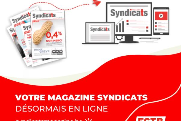 De nouveaux outils numériques pour votre magazine Syndicats