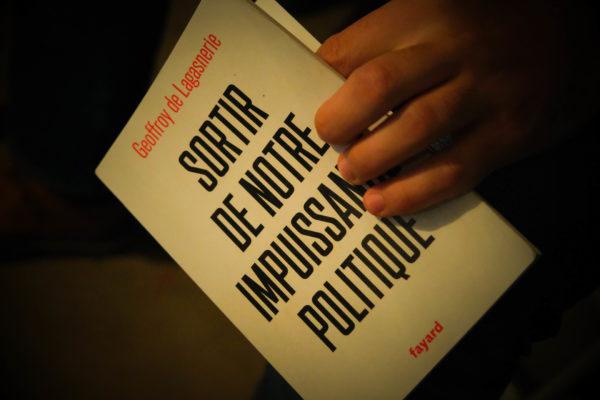 PODCAST   Sortir de notre impuissance politique, Geoffroy de Lagasnerie